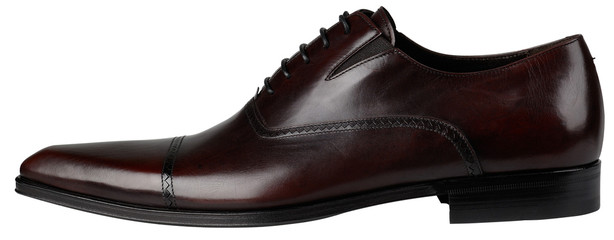 Brown Mens Shoes with shoelace