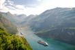 Ausfahrt aus dem Fjord
