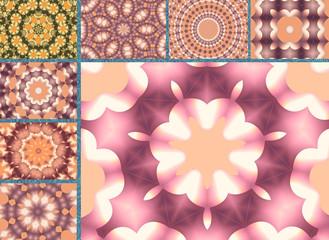 Mandalas en patchwork