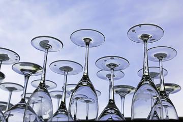 Gläser spülen