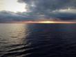 canvas print picture - Bedrohliche Wetterfront im Mittelmeer