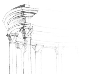 Vector architectural element for your design