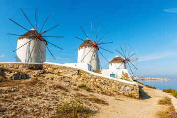 Famous Mykonos Windmills 16