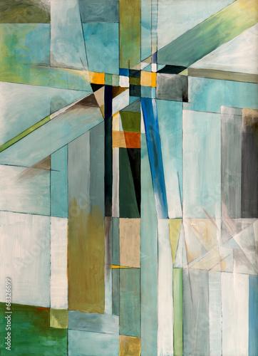 Leinwanddruck Bild an abstract painting