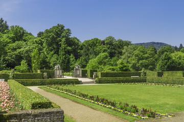 Rose Park. Germany, Baden-Baden.