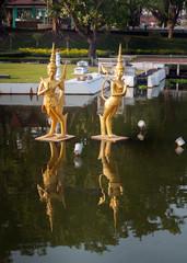 Fountain in Mini Siam Park