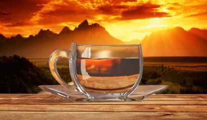 Teacup sectional