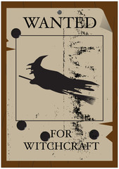 Wanted for Witchcraft Poster
