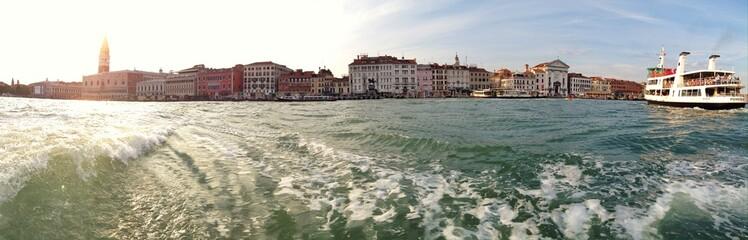 Skyline von Venedig als Panorama