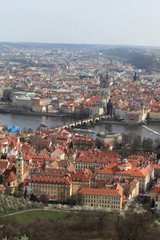 View Prague from Petrin hill