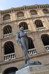 Statua del torero, Plaza de Toros, Valencia