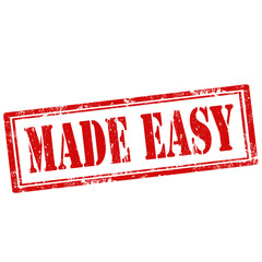 Made Easy-stamp