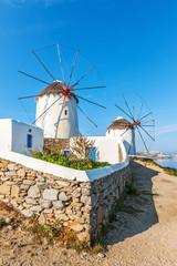 Famous Mykonos Windmills 17