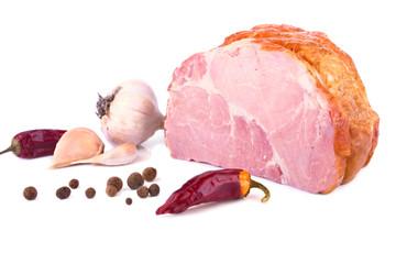 Pork Fresh Ham and Spices