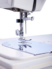 The Work Part of the Sewing Machine