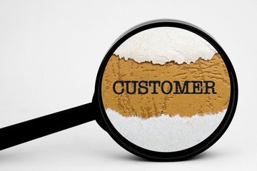 Search for customer