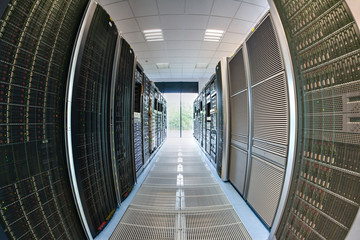 Servers in computer room