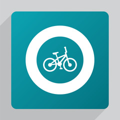 flat bike icon.