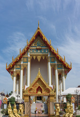 Wat Ar-Wut (Weapon Temple) in Bangkok, Thailand