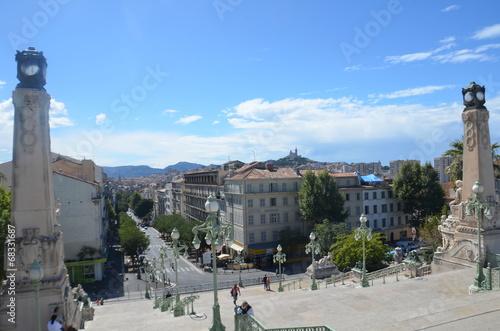 Marseille Saint-Charles, escalier monumental - 68331687