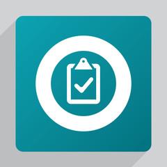 flat vote icon.