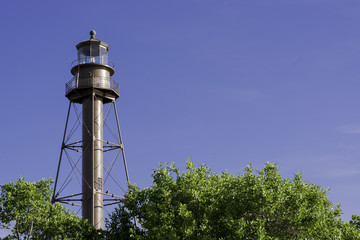 Lighthouse At Sanibel Island, Florida - USA.