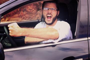 insulte en voiture