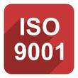 iso 9001 flat  icon