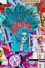 Abstract Graffiti Art, Brick Lane, London