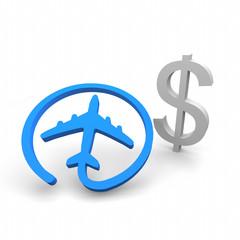 flug, reise, fliegen, online, kosten,