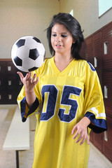 Balancing the Soccer Ball