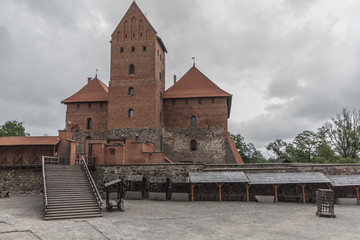 Trakai castle, outer yard.