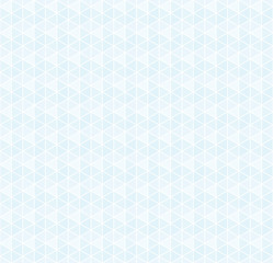 Vector seamless blue triangular pattern
