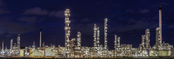Landscape of oil refinery industry