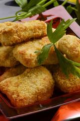 Chicken nuggets Nugget pollo Pepite Friterade kycklingbitar 雞塊
