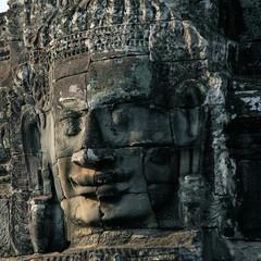Temple Bayon in Angkor Park