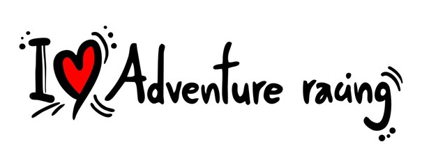Adventure racing love