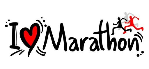 Marathon love
