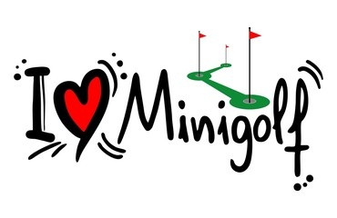 Minigolf love
