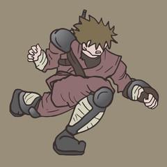 Ninja man draw