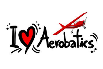 Aerobatics love