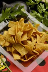 Tiras de maíz Corn snacks Gastronomía de España