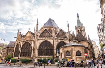 The Church of Saint Eustache. Paris. France.