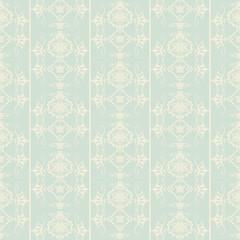 Seamless damask decorative wallpaper