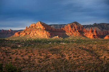 Sunset over Sedona, AZ
