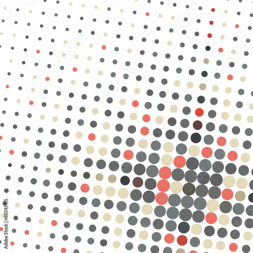 Abstract dotted background texture © karandaev
