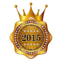 2015 王冠 メダル