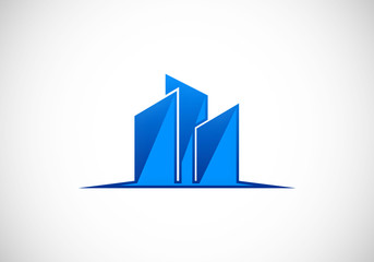 building-icon-vector-logo