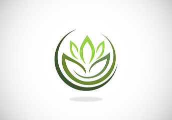 lotus-flower-herbal-medicine-spa-vector-logo
