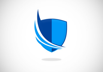 shield-protection-loop-vector-logo